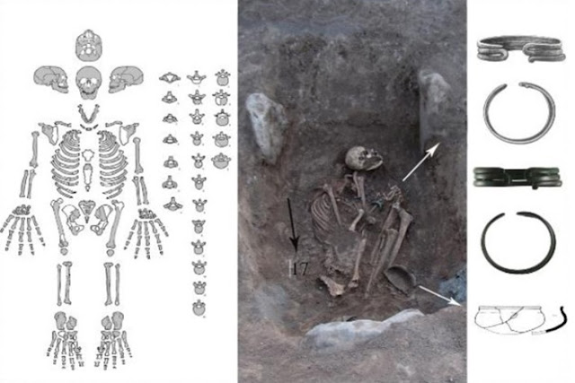 3000-year-old burial of female warrior unearthed in Armenia