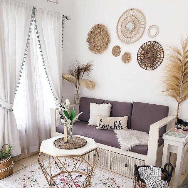 Desain Ruang Keluarga dengan Warna Netral