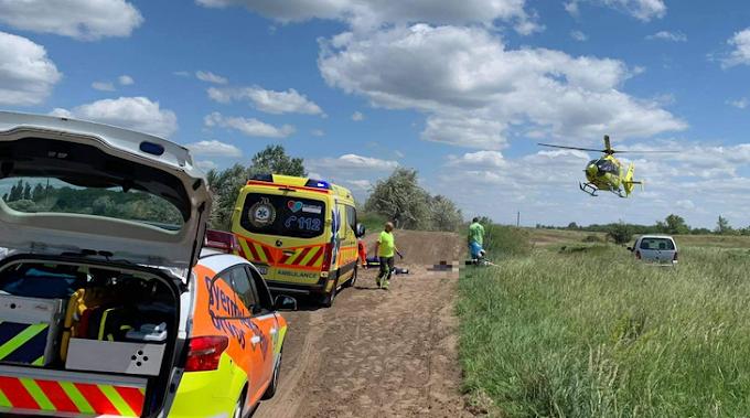 Gépek tartják életben a 9 éves motoros kisfiút: a levegőben ütközött egy kvaddal a monori krosszpályán Zsolt