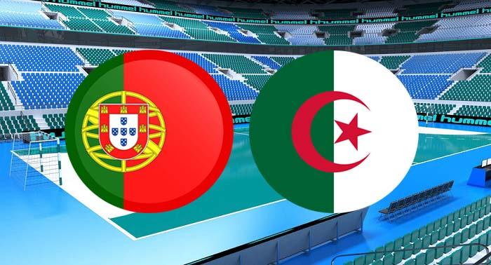 ملخص واهداف مباراة البرتغال والجزائر اليوم