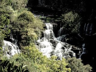 Corredeiras no Parque do Caracol, em Canela