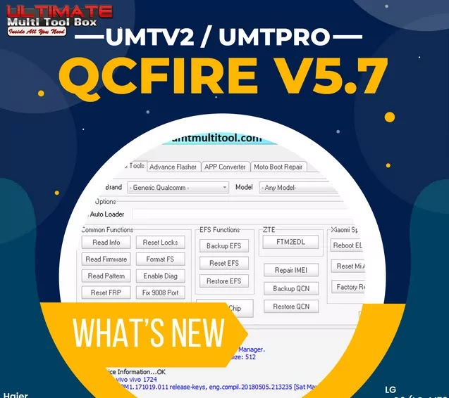 UMT Dongle Setup v5.7 Latest Free Version No Need Dongle