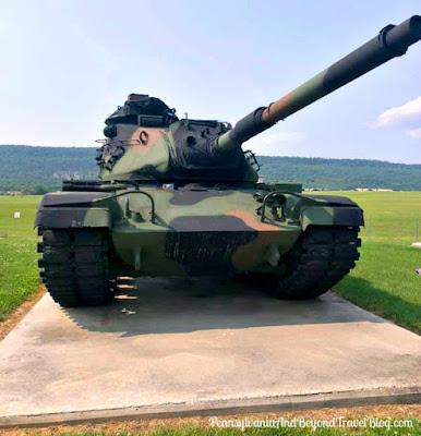 Tank at the Pennsylvania National Guard Military Museum