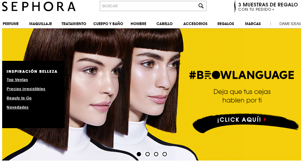 Tienda Online Sephora