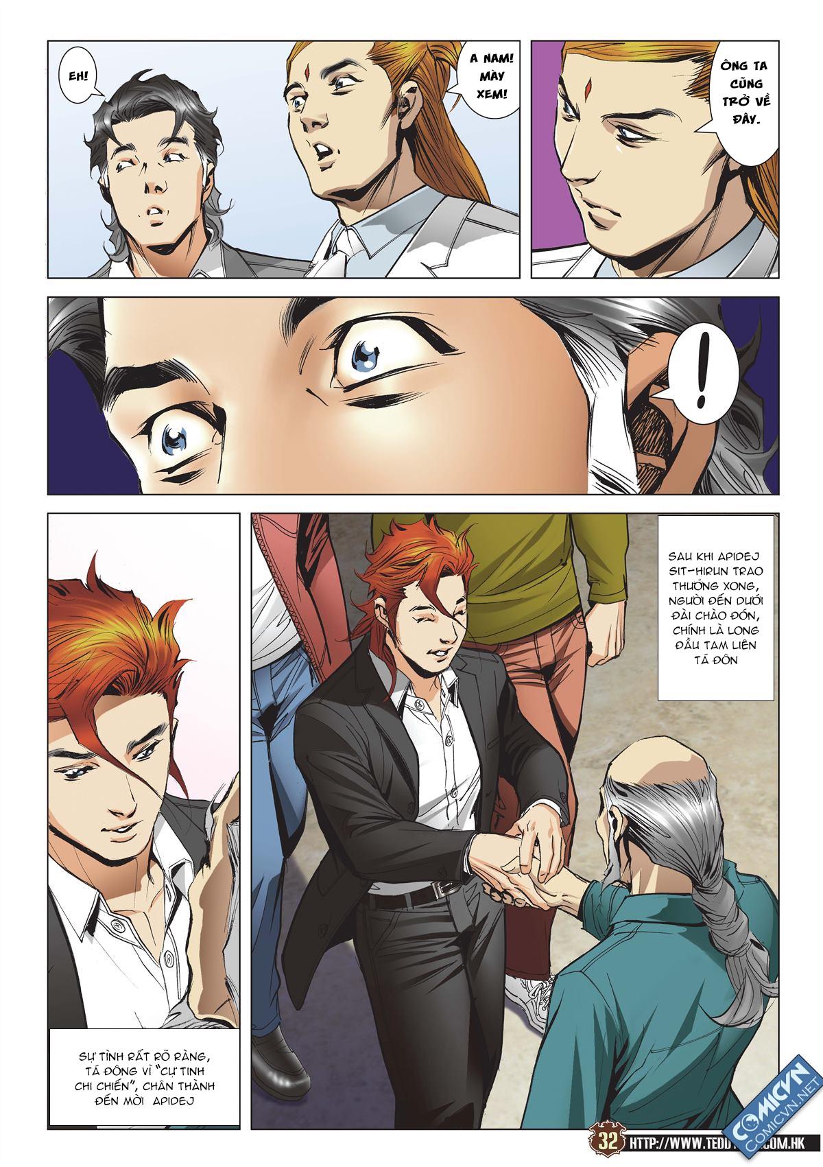 Người Trong Giang Hồ chapter 2113: cự tinh chi chiến trang 29