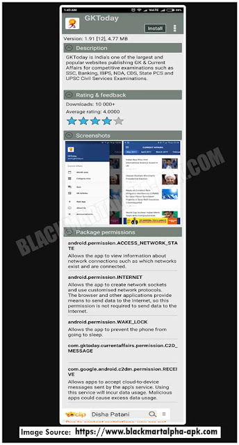 blackmart apk app description screen