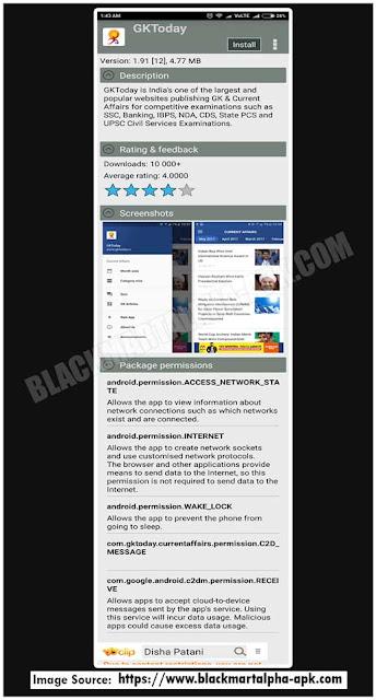 blackmart apk app description screen