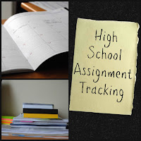 High School Assignment Tracking on Homeschool Coffee Break @ kympossibleblog.blogspot.com