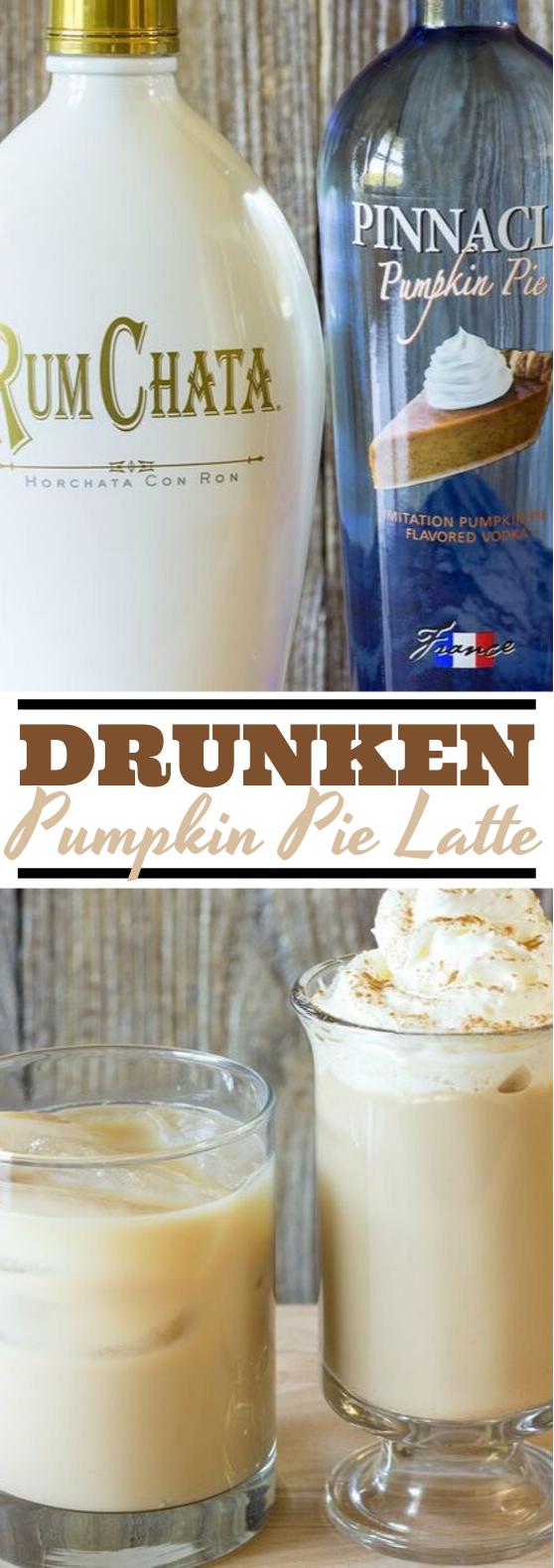 Drunken Pumpkin Latte #drinks #latte