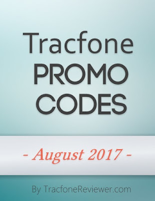 Tracfone Promo Code August 2017