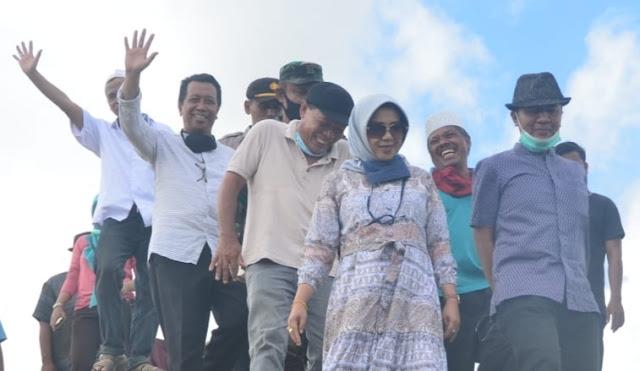 Muhur Zokhri, Proyek Pembangunan Embung Dilembar Dengan Nilai Pembangunan 5 Milyar