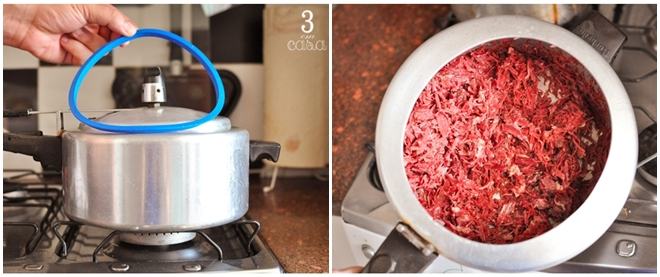 dessalgar carne seca rápido