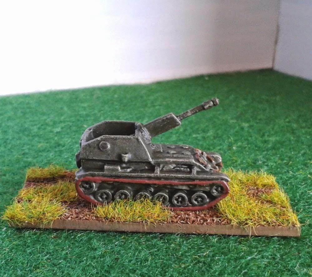 Russian SU 76 picture 1