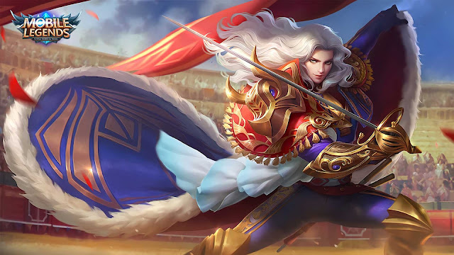 Wallpaper Skin Epic Lancelot - Royal Matador