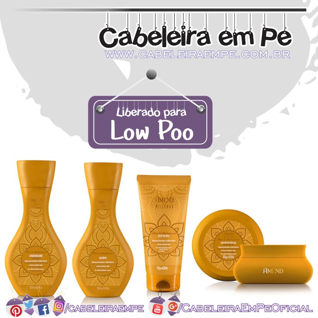 Shampoo, Condicionador, Máscara e Calm Millenar Óleos de Madagascar - Amend (Low Poo)