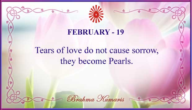 Thought For The Day February 19