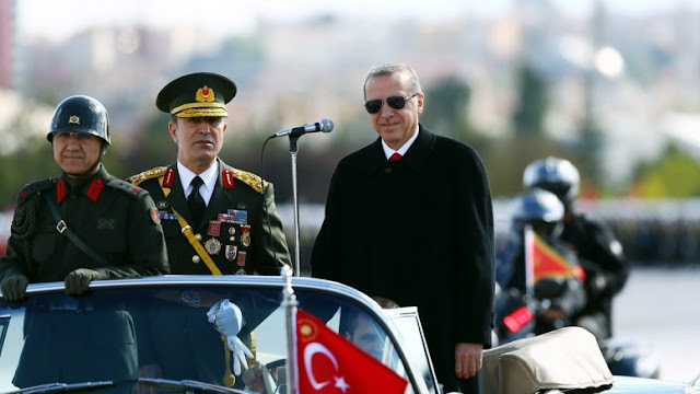 Η Ελλάδα αποτελεί εύκολο στόχο για τον Ερντογάν