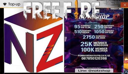 notz shop free fire