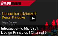 Microsoft design principles course