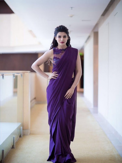 Actress Samantha Latest Hot Photos in Saree