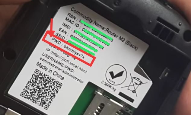 Jiofi ka default password kaise jaane, jiofi ka default password kya bota hai