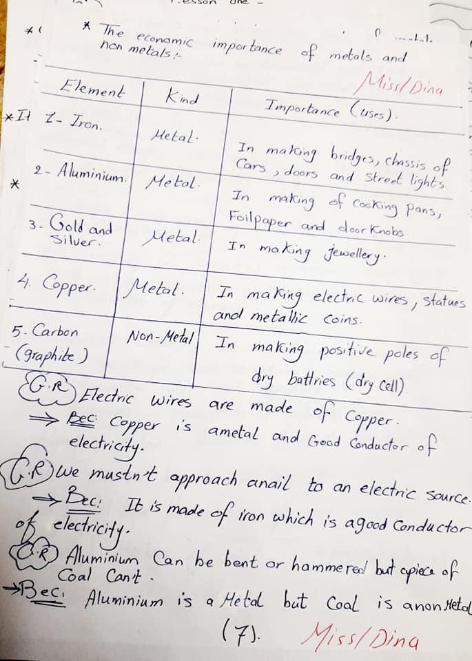 شيت ١٢ ورقة للصف الرابع ملخص ماده الساينس الترم الاول.. متذاكرش غيرهم 7