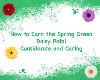 How to Earn the Spring Green Daisy Petal with a Community Service Project
