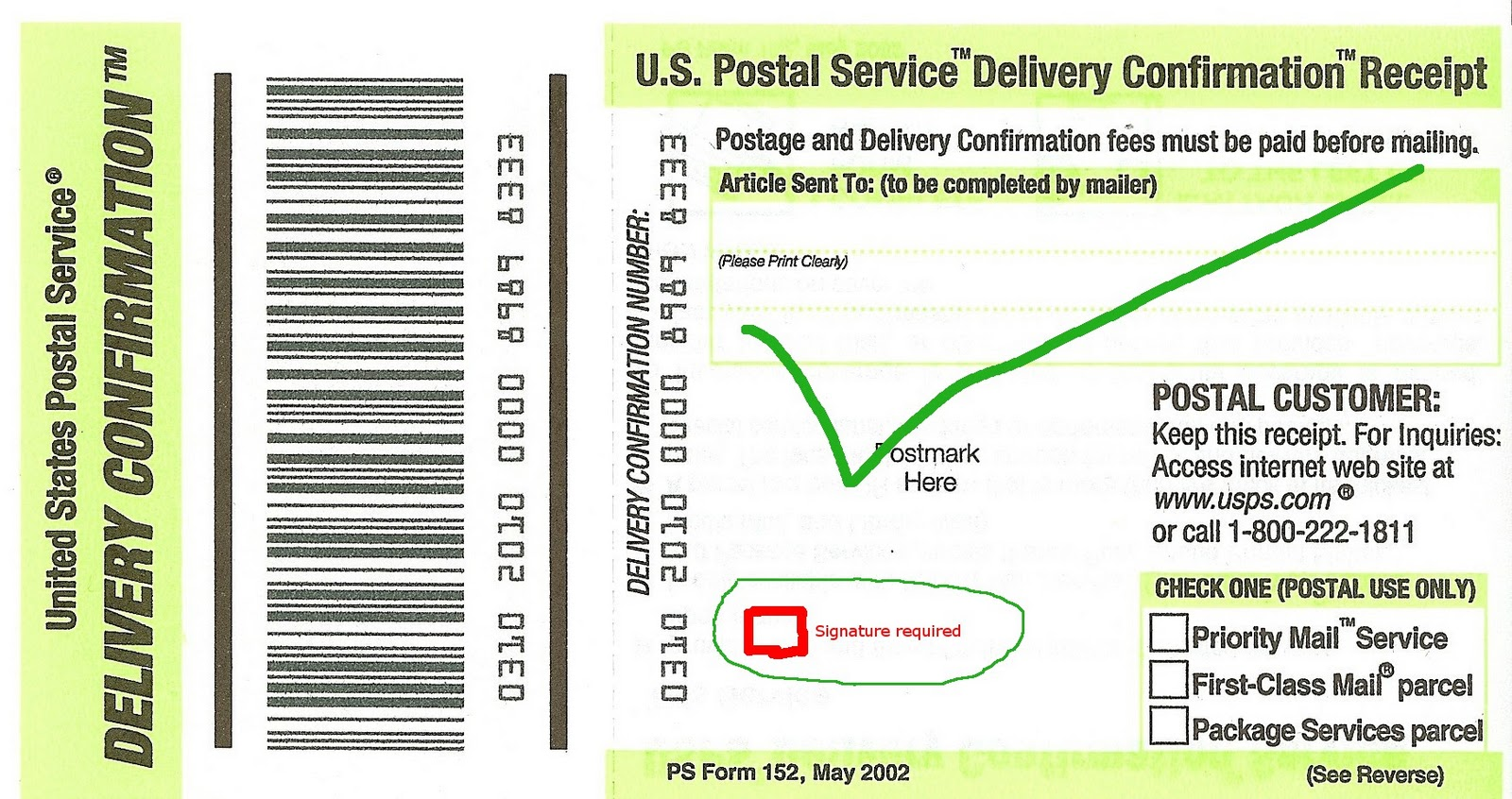 jpeg this is not...U.s. Postal Service Certified Mail Cost