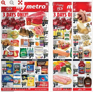 Metro flyer quebec June 29 - July 5, 2017 - 3 Days Only