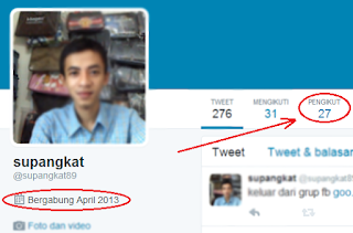 follower twitter sedikit