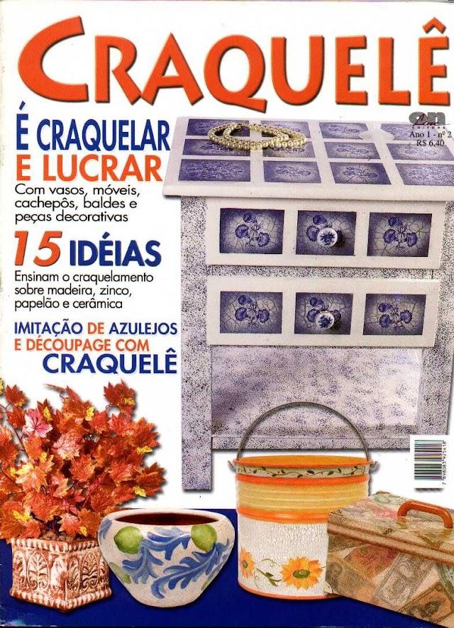Revista Craquelê é Craquelar e Lucrar