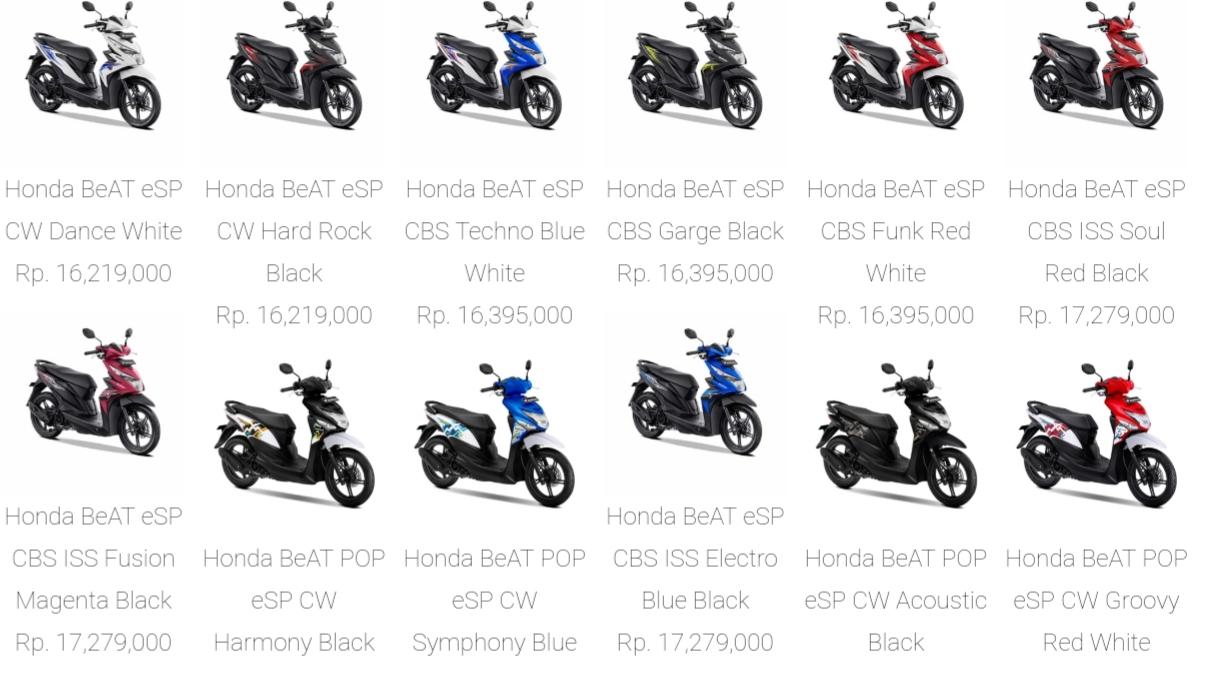 Harga Honda Beat Street Pop Esp Cbs Iss Cw Terbaru 2020 Racing 48
