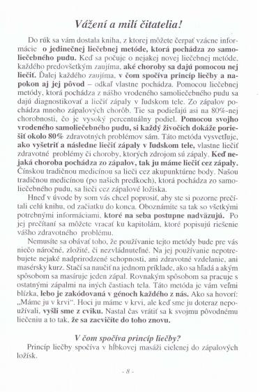 "Ukážka z knihy ""SAMOLIEČEBNÝ PUD"" SAMOLIEČBA ZÁPALOVÝCH OCHORENÍ"