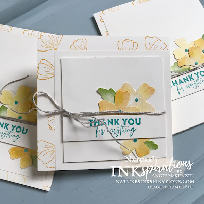 Weekly Digest | Week Ending June 19, 2021 | Nature's INKspirations by Angie McKenzie for Casually Crafting Design Team Blog Hop; Click READ or VISIT to go to my blog for details! Featuring the Flowers of Friendship Bundle and the Watercolor Shapes Photopolymer Stamp Set by Stampin' Up!® to create some simple cards using stamps, ink, paper and punches; #stampinup #cardtechniques #cardmaking #flowersoffriendshipbundle #flowersoffriendshipstampset #watercolorshapesstampset #flowersandleavespunch #labelmefancypunch #stampingtechniques #stampinupcolorcoordination #casuallycraftingdesignteambloghop #naturesinkspirations #diycards #handmadecards
