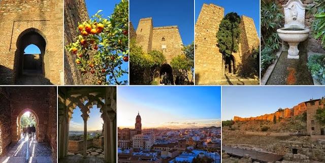 Things to do in Malaga in December: Alcazaba in Málaga, Spain