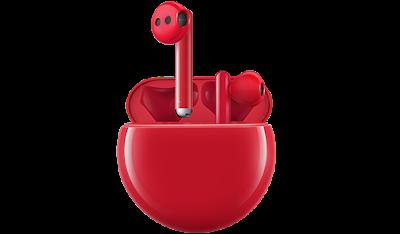 HUAWEI FreeBuds 3 RED EDITION สีใหม่นำเทรนด์  พร้อมวางจำหน่ายแล้ววันนี้ทั่วประเทศ ในราคาสุดคุ้ม 4,990 บาท  ใครกำลังมองหาของขวัญวันวาเลนไทน์ ต้องไปโดน!