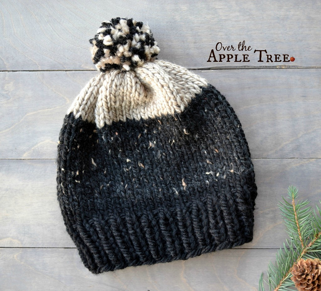 Over The Apple Tree: I CAN Knit!