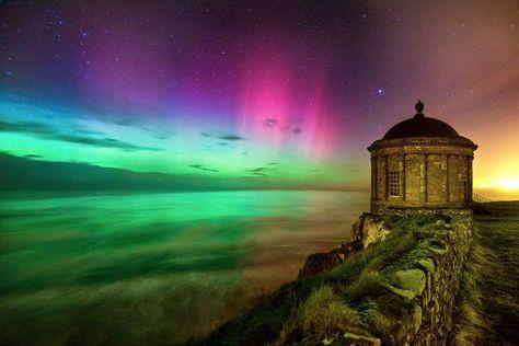 Aurora boreale in irlanda dove e quando vederla for Aurora boreale sfondo