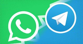 واتساب أو سيجنال WhatsApp or Signal