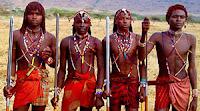 Младежи от племето масаи