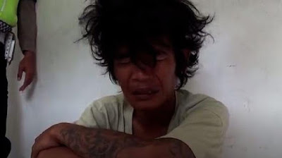 Preman cengeng di Medan