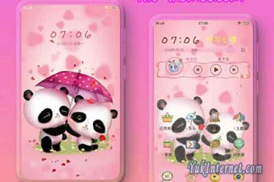 tema vivo couple panda