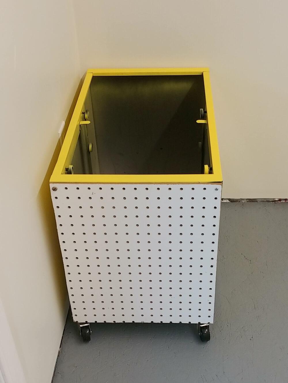 Upcycled Filing Cabinet Wood Storage