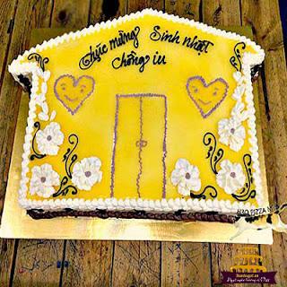 bánh sinh nhật hình ngôi nhà đẹp-2