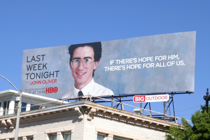 Last Week Tonight John Oliver season 7 billboard