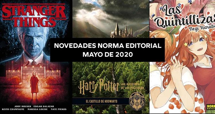Norma Editorial: Novedades Mayo 2020