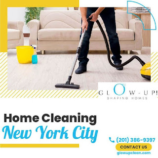 Enjoy quality and secure service for your house without any worry now. Glow up clean is a cleaning service provider that offers exceptional home cleaning service New York City for your ease. We have expert cleaners with top-quality cleaning supplies that help our cleaner to provide standard service for you.