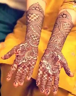dulhan henna design