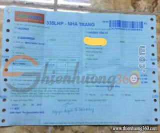 Sơn Acrylic gửi về Nha Trang