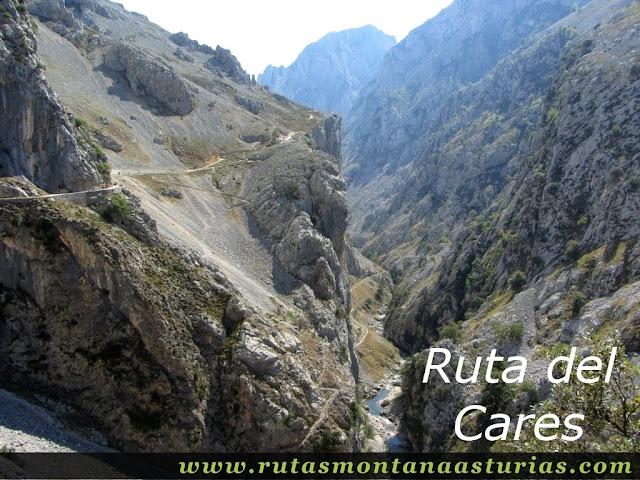 Ruta Caín Terenosa: Vista del Cares